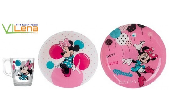Набор 3 пр Disney Party Minnie N5279