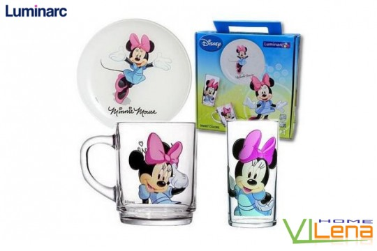 Набор 3 пр Disney Minnie Colors Н5321